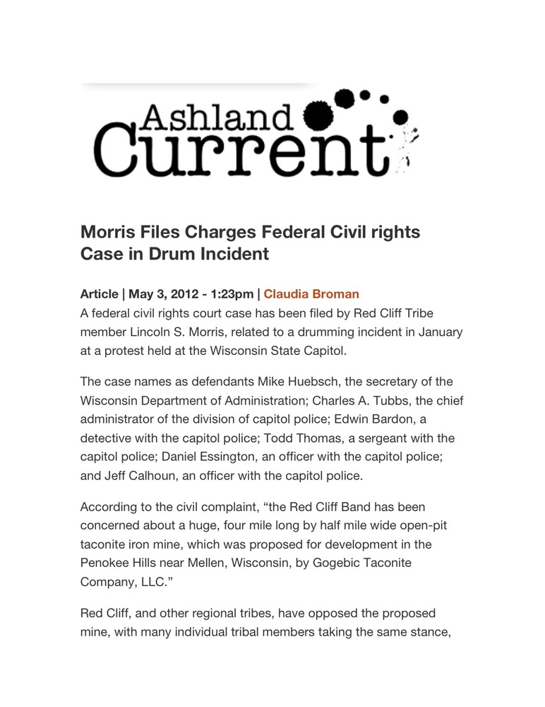 Ashland Current Report