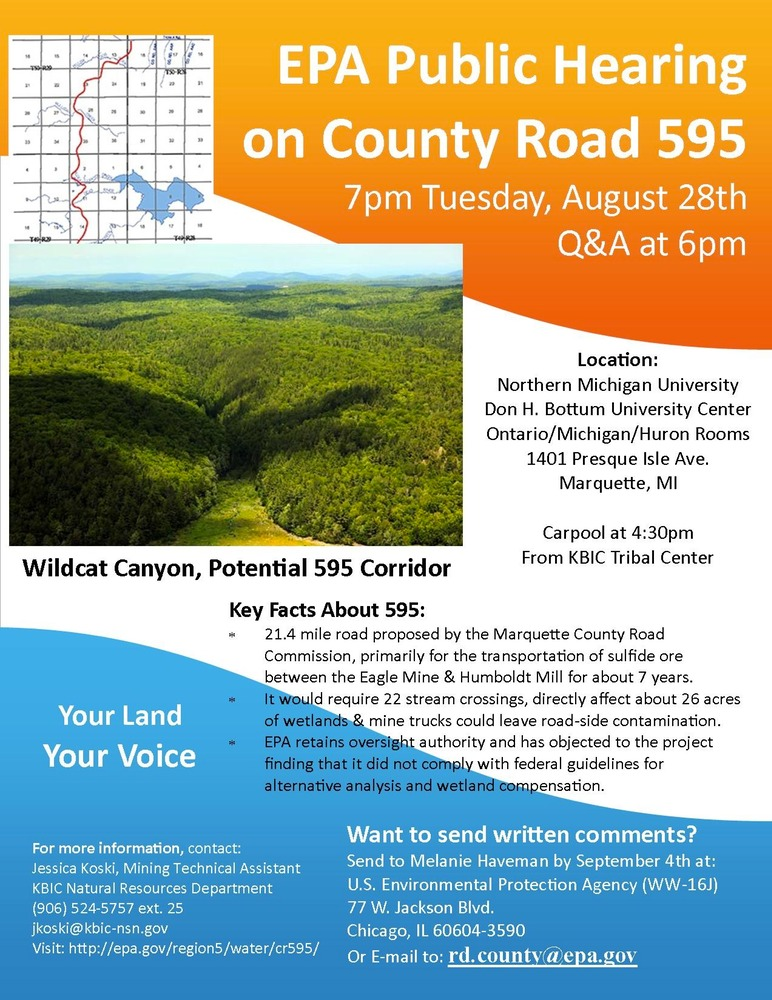 CR595 Hearing Flyer