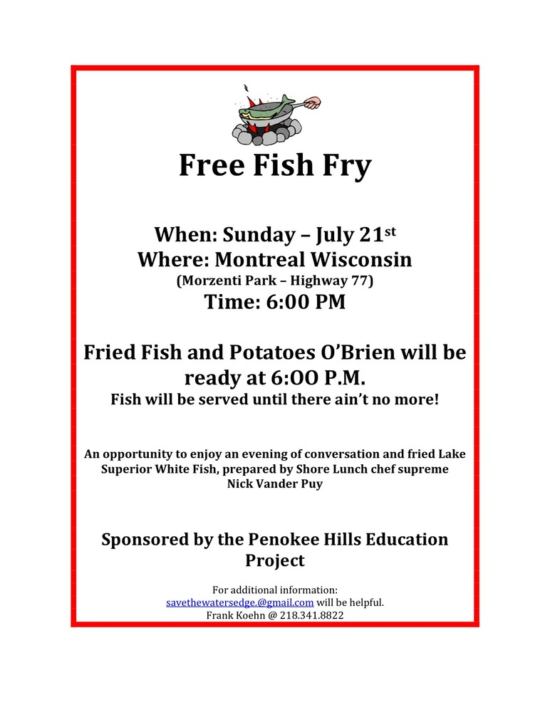 Free Fish Fry The Water S Edge